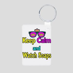 Crown Sunglasses Keep Calm And Watch Soaps Aluminu