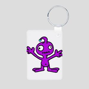 Space Alien Keychains