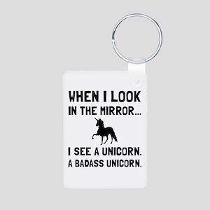 Badass Unicorn Keychains