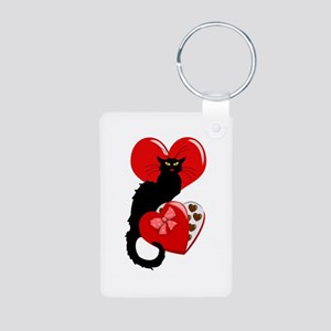Le Chat Noir with Chocolate Candy Gift Keychains