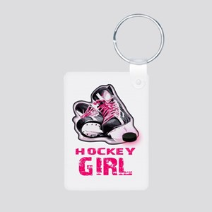 hockey girl Keychains