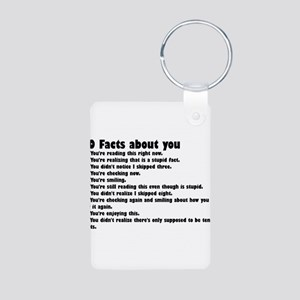 10 Facts about you Keychains
