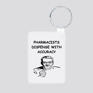 funny pharmacist Aluminum Photo Keychain
