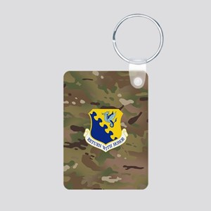 31st Fighter Wing Aluminum Photo Keychain