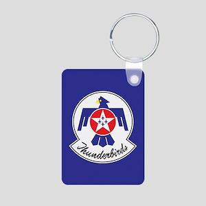 USAF Thunderbirds Emblem Aluminum Photo Keychain