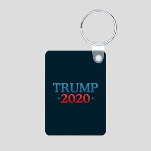 Trump 2020 Aluminum Photo Keychain