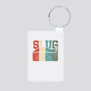 Slug Retro Vintage Slimy Mollusks Smooth Keychains