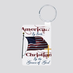 American by Birth Christian By Grace of God Alumin