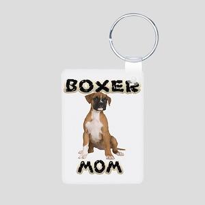 Boxer Mom Keychains