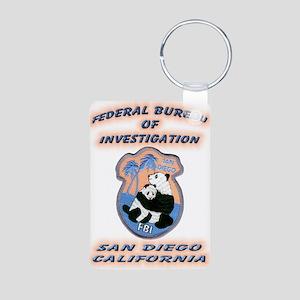 FBI San Diego Aluminum Photo Keychain
