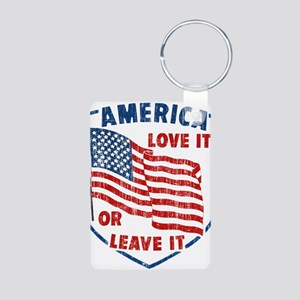 Faded America Love it Keychains