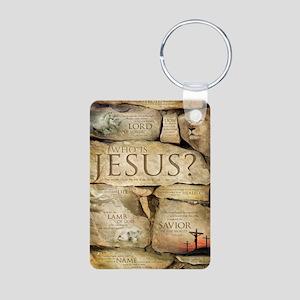 Names of Jesus Christ Aluminum Photo Keychain