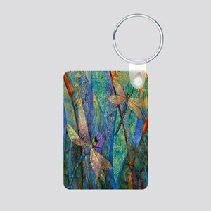 DRAGONFLIES Aluminum Photo Keychain