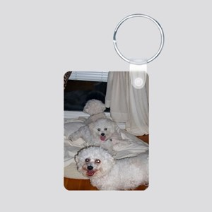 THREE-MUSKETEERS-MOUSEPAD Aluminum Photo Keychain