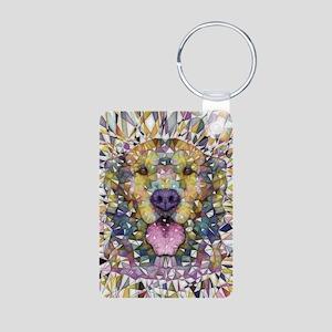 Rainbow Dog Keychains