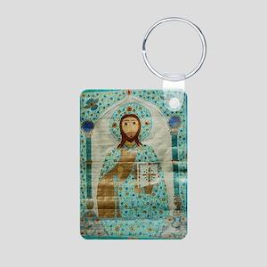 ChristTeacherMousepad Aluminum Photo Keychain
