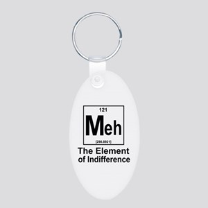 Element Meh Aluminum Oval Keychain
