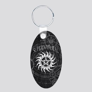 Supernatural Black Keychains