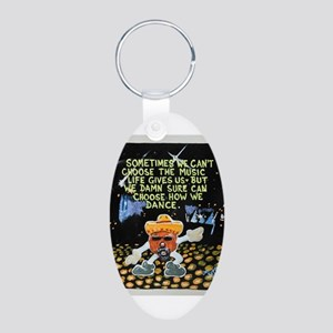 Disco Taco Man / Sculpted Art Keychains
