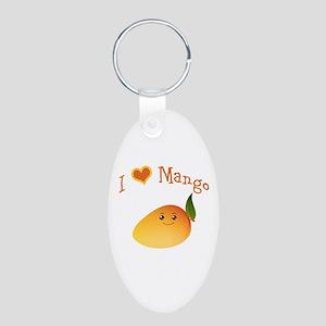 I Love Mango Keychains