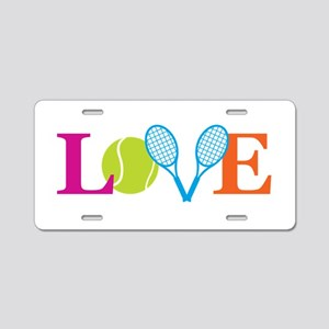 """Love"" Aluminum License Plate"