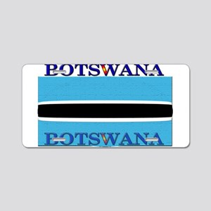Botswana Flag Aluminum License Plate