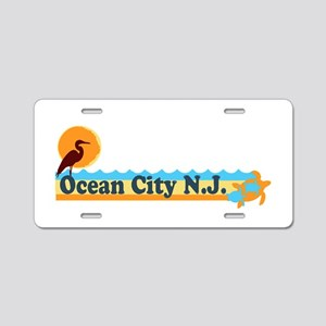 Wrightsville Beach NC - Map Aluminum License Plate