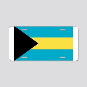 Bahamian Flag Aluminum License Plate