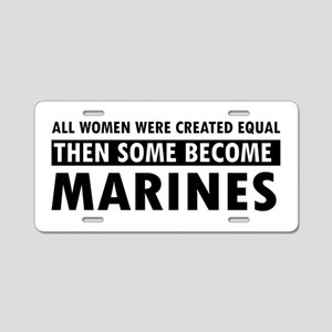 Marine design Aluminum License Plate