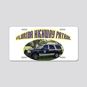 Florida Highway Patrol K9 Aluminum License Plate