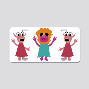 Mahna Kids Tee Aluminum License Plate