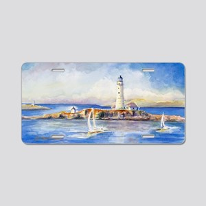 Boston Light Clutch Aluminum License Plate