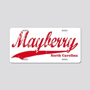 Mayberry North Carolina Aluminum License Plate