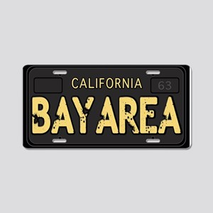 Bay Area calfornia old license bleed Aluminum Lice