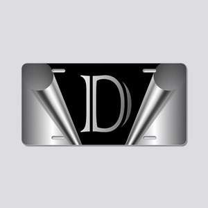 Steel Peel D Aluminum License Plate