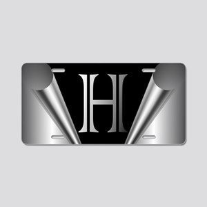 Steel Peel H Aluminum License Plate