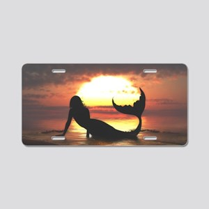 Existence Mermaid License Plate Tag