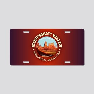 Monument Valley Aluminum License Plate