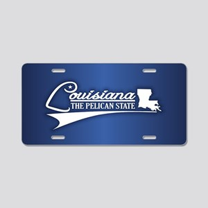 Louisiana State of Mine Aluminum License Plate