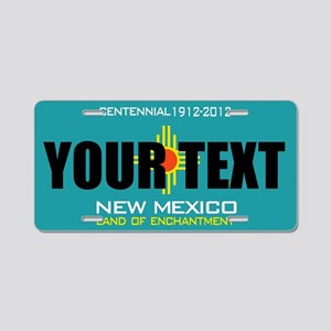 New Mexico Centennial Custom License Plate