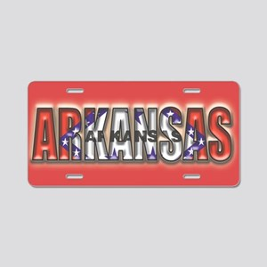Arkansas Aluminum License Plate