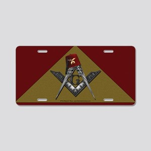 Shriners roots pyramid Aluminum License Plate