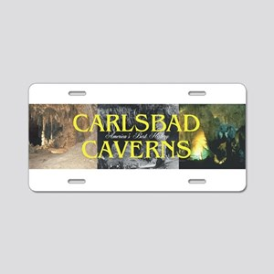 Carlsbad Caverns Americasbe Aluminum License Plate