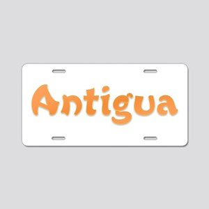 Antigua Aluminum License Plate