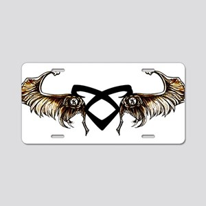 Angelic Wings - Aluminum License Plate