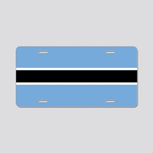 Flag: Botswana Aluminum License Plate