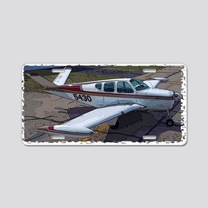 Beechcraft Bonanza Aluminum License Plate