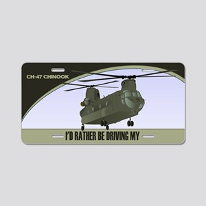 CH-47 Chinook License Plate