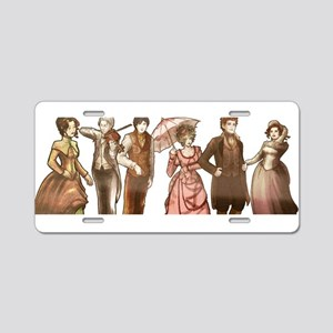 Infernal Devices V1 - Aluminum License Plate