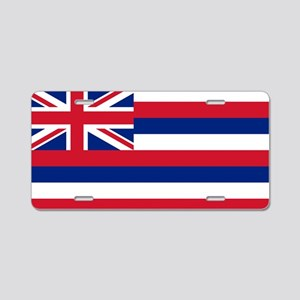 State Flag of Hawaii Aluminum License Plate